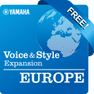 "Europe (""Best Of"" Collection) (Yamaha Expansion Manager compatible data)"