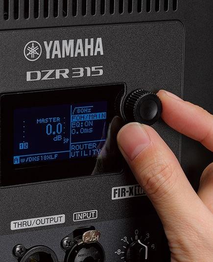 Yamaha DZR - panel tylni
